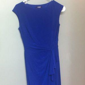 Chaps Formal Cobalt Blue Gown